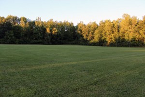 Badgerow Park North football field