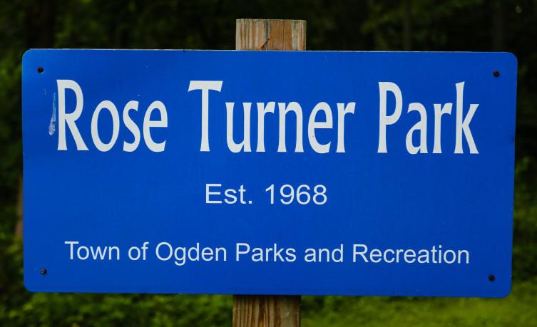 Rose Turner Park Sign