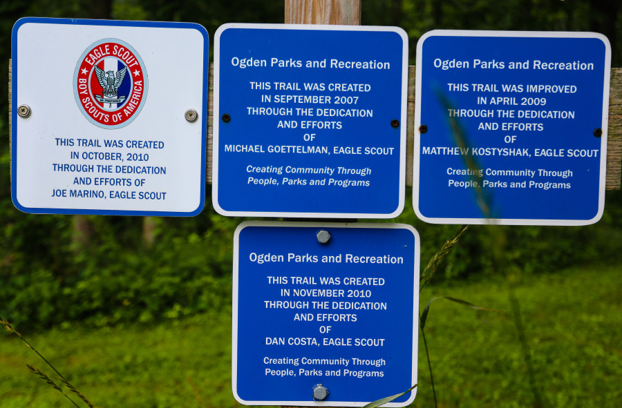Rose Turner Park trail information