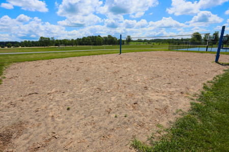 Sanford Road Park volleyball court