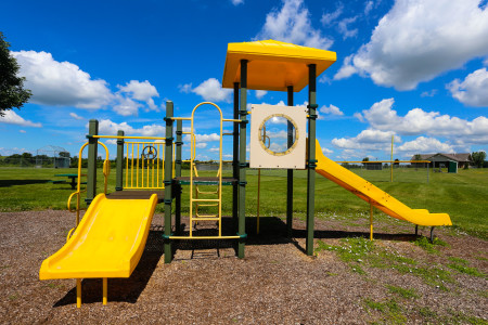 Sanford Road Park new play structure