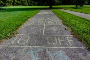 Kreag Road Park shuffleboard court