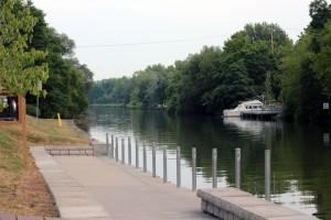 Boat launch at Henpeck Park