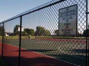Grandview Park basketball court