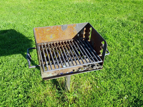 Forest Hills Playground barbecue