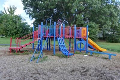 Pappas Park play structure