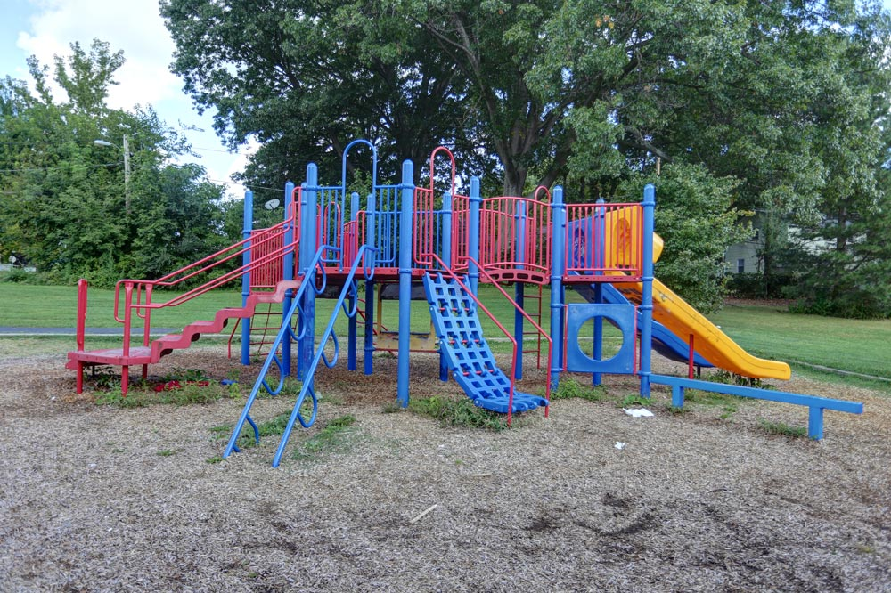 Pappas Park play structure