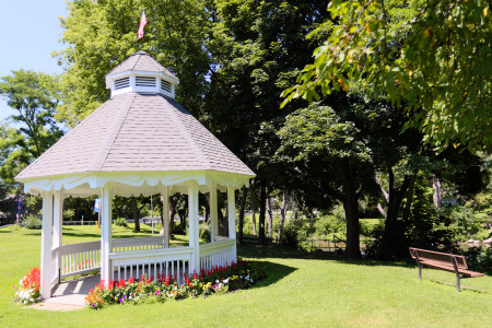Veterans Memorial Park gazebo