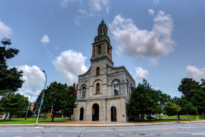 St. Joseph's Park front side